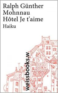 Cover Ralph Günther Mohnau Hotel Je t'aime